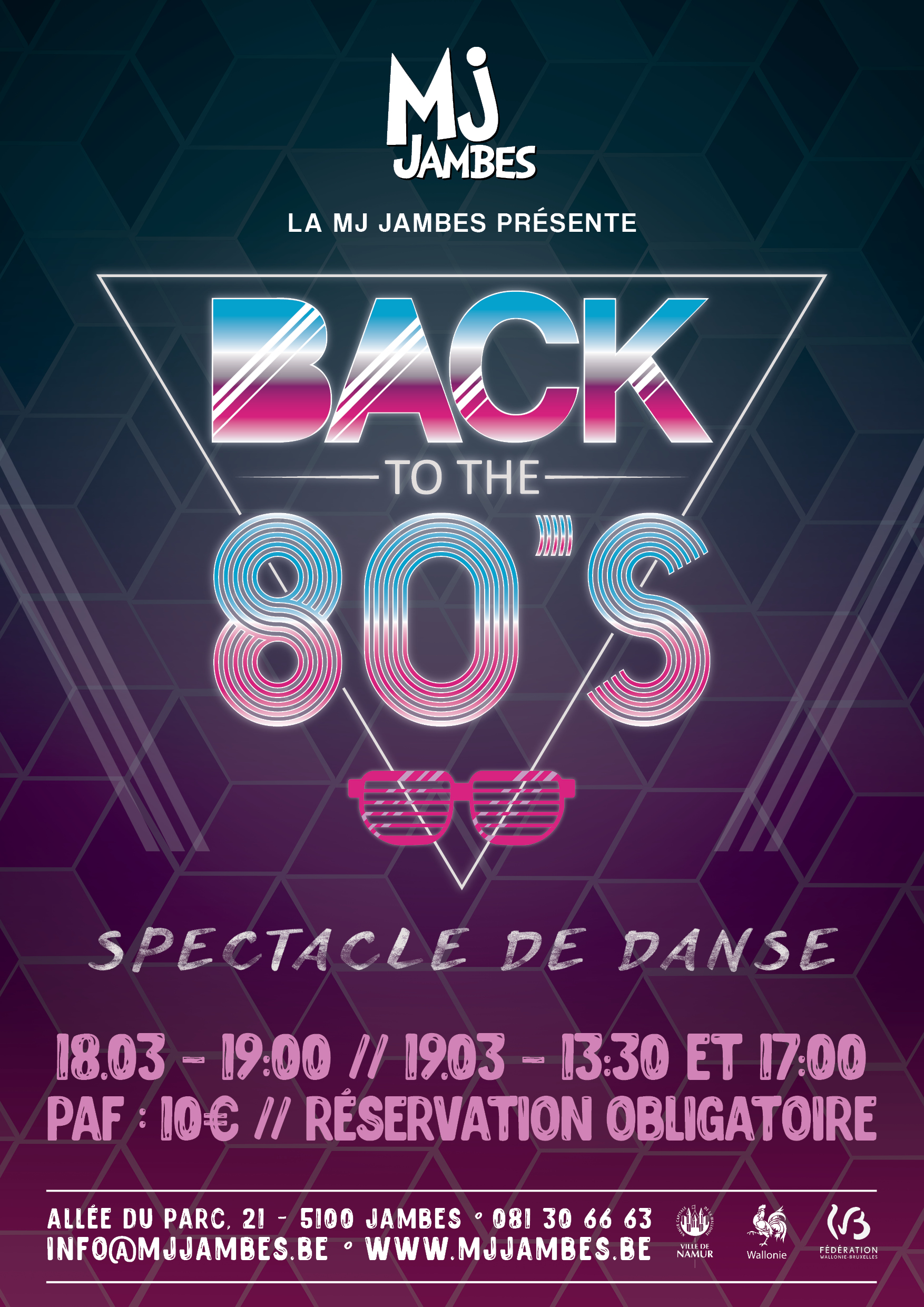 Spectacle // BACK TO THE 80'S – 18 & 19/03